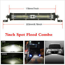 "1PCS 7"" 12V Work Light Spot Flood Beam Driving Fog Lamp Bar Car SUV Off-road 90W"