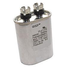 HQRP 10uf 370-440V Capacitor AC Electric Motor Run Start 10MFD 27L669 97F9002