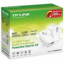 ESP TP-Link TL-PA9020P KIT AV2000 Gigabit Extensor Powerline adaptadores 2-PLCs
