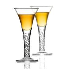 2 Jakobiten Whisky Gläser - Jacobite Dram - Handgefertigt aus Kristallglas