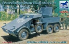 Bronco Models 1/35 Armored Krupp Protze Kfz.69 with 3.7cm Pak 36 (late version)