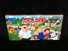 Rare FAMILY GUY Collector's Edition MONOPOLY Board Game BRAND NEW FACTORY SEALED
