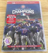 2016 World Series Champions: The Chicago Cubs (DVD, 2016) New Sealed Fly The W