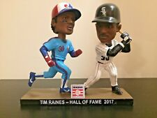 Tim Raines Chicago White Sox Montreal Expos Dual Double HOF Bobblehead Bobble LE