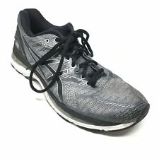Men's Asics Gel-Nimbus 20 Running Shoes Sneakers Sz 11.5M Black Gray Athletic K8