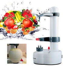 Automatic Electric Potato Quick Peeler Pear Apple Fruit Cutter Slicer Peel Sets