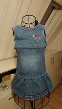 blaues Jeans Kleid, Größe 92 /98, Esprit, Denim, 98% Baumwolle,