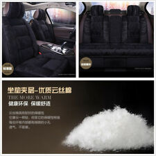 3D Plush Soft Cloud Silk Cotton for 5-Seats Covers Set Winter Interior Cushion