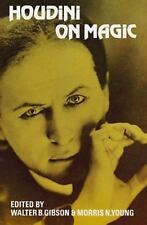 Dover Magic Bks.: Houdini on Magic by Harry Houdini (1953, Paperback)