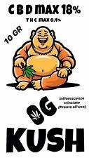 Infiorescenze di Cannabis Light 10 Gr - Og Kush - Formato Trinciato - Solo Fiori