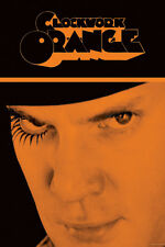CULT MOVIE POSTER Clockwork Orange Alex Face Movie Poster