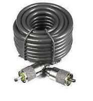 10M MINI 8 / RG8 LEAD. 50 OHM. WITH FITTED PL259 CONNECTORS