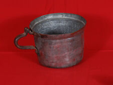 Antique Turkish Copper Yogurt Pot  - Handmade - Superb