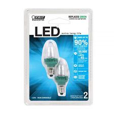 Feit Electric Accent Green LED Night Light Bulb - BPC7/G/LED