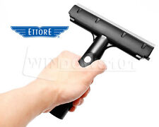 "Ettore 6"" Pro+ Rubber Grip Scraper - Window Film Tint Glass Paint Tile Cleaning"