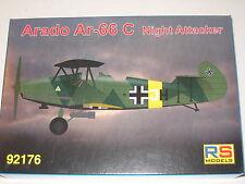 1/72 Scale RS Models Arado Ar-66C Night Attacker