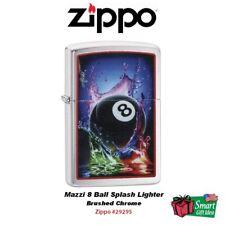 Zippo Mazzi 8 Ball Splash Lighter, Brushed Chrome #29295