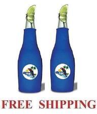 Corona Extra Parrot 2 Beer Bottle Zip Up Cooler Huggie Coozie Coolie Koozie New