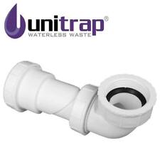 Unitrap Waterless Waste Trap Ideal Under Baths & Basins Adapts From 40mm - 32mm