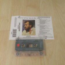 JOE COCKER - COCKER (UK CASSETTE/TAPE ALBUM)