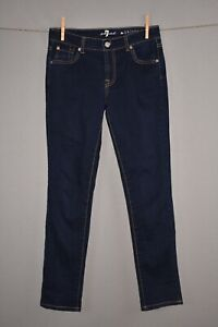 7 FOR ALL MANKIND $75 The Skinny Jean in Rinsed Indigo Girls 14