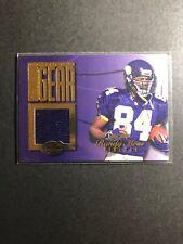 Randy Moss 1999 Leaf Certified Gridiron Gear Purple HOME Jersey #'d 135/300
