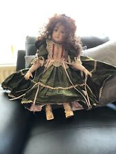 BEAUTIFUL REPRODUCTION FRENCH DOLL by SHEER ELEGANCE  27 INCHES