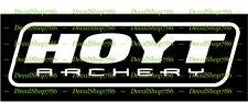 HOYT Archery - Bow Hunting & Outdoor Sports - Vinyl Die-Cut Peel N' Stick Decal