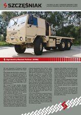 High Mobility Wheeled Platform catalogue brochure 2014 military Iveco rare