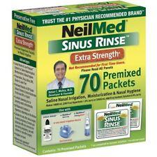 NeilMed Sinus Rinse Extra Résistance Pré Mélangé Paquets - 70 Sachets Recharge