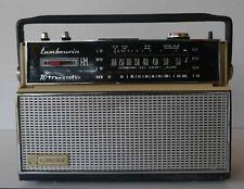 Rare poste récepteur radio TSF Schneider Tambourin FM à restaurer