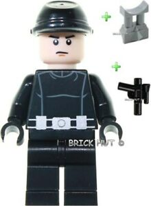 LEGO STAR WARS IMPERIAL PILOT WITH CAP FIGURE + GIFT - FAST - 10212 - 2010 - NEW