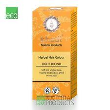 💚Khadi Herbal  Hair Colour Blond Light Blonde 100g