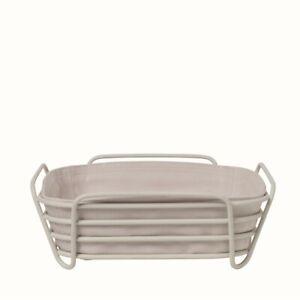 """Blomus Delara Basket Moonbeam (Cream) Large 10"""" - 64075"""
