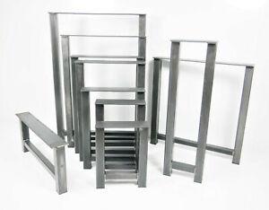 Heavy Duty Metal Table Leg Dining Coffee Bench Office Desk Steel Trestle