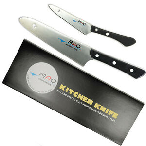 MAC UPK 2pcs UK-60 PK-40 Original Utility Paring Kitchen Knife Molybdenum Steel