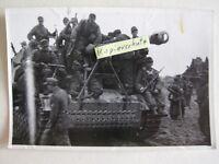 100%Orig 2WK WH Foto SdKfz Panzer Langrohr Panther Tiger Endkampf MP42 1944 RAR