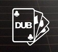 DUB CLUB Vinyl  Car/Van/Window/Laptop Decal Sticker JDM VW DUB VAG EURO