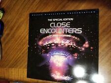 Close Encounters of the Third Kind Special Edition Laser Disc Laserdisc