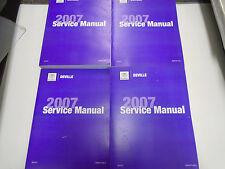2007 CADILLAC DEVILLE Service Repair Shop Manual Set 2 VOLUME NEW GM CADILLAC
