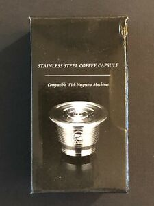 i Cafilas stainless steel Coffee Capsule