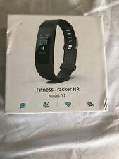 Fitness Tracker HR, model:Y1, Bluetooth, heart rate, tracks sleeping quality .