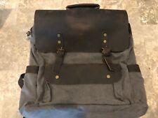 "Lifewit 17.3"" Leather Vintage Laptop Backpack - Open box/NWOT"