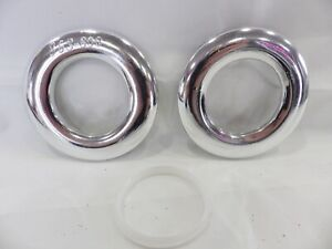 Eyelet Curtain Rings for Curtains with Eyelets : Gloss Silver Low Noise