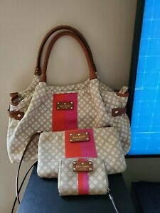 Kate Spade extra large bag with matching crossbody and wallet-excellent...