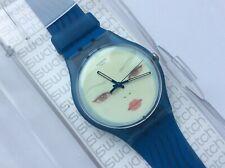 A Rare Limited Edition Swatch BLUE WRAITH by Hideaki Kawashima