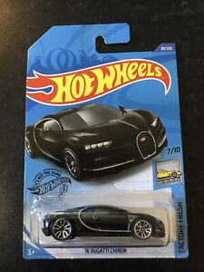 Hot Wheels - '16 Bugatti Chiron (Black)