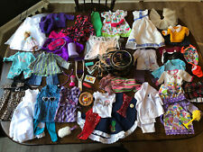 """HUGE Lot American Girl Doll & Other Clothes Accessories Outfits 16"""" + Wheelchair"""