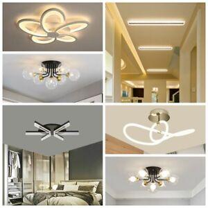 Design LED Deckenlampe Deckenleuchte Tageslicht Warmweiß für Wohnzimmer Büro A++