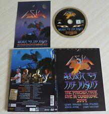DVD DIGIPACK ASIA SPIRIT OF THE NIGHT THE PHOENIX TOUR LIVE IN CAMBRIDGE 2009